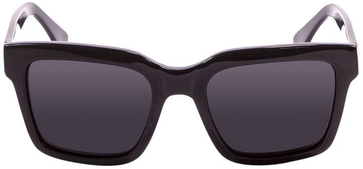 Shiny Black/Smoke Jaws Sunglasses by Ocean. Ocean's Jaws sunglasses are perfect for everyday wear. are sure to make a bold statement as they are utterly stylish. They feature a polarized lens ensuring your eyes are well protected. Acetate and Metal. Complete with an Ocean sunglasses sleeve.