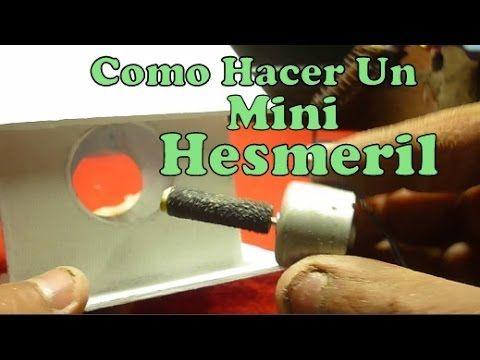 Como Hacer Inventos Caseros Utiles y Faciles Mini Hesmeril Herramientas Caseras, como hacer mini esmeril casero facilmente. Experimentos caseros faciles 2016...