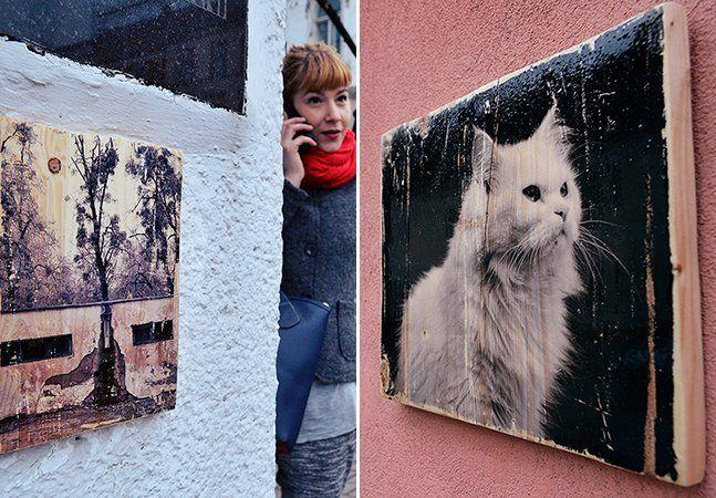 Como se define o valor de uma obra de arte? Para a fotógrafa romena Ania Ciotlaus, o dinheiro não paga sua produção. Sua gratificação está em doar suas obras a quem se interessar. Apaixonada por fotografia de rua e técnicas experimentais de impressão, Ania tem feito um processo de transferência das imagens que captura para a madeira, resultando em texturas sempre únicas.A artista tem disposto estes quadros pelas ruas de Cluj, sua cidade na Romênia, para que os pedestres que gostarem das…