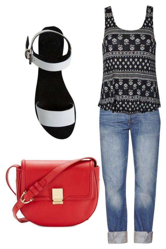 Untitled #1 by tayken3 on Polyvore featuring polyvore fashion style Ally Fashion Levi's Sol Sana C. Wonder clothing