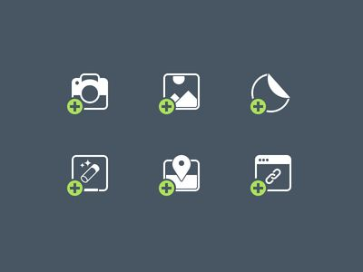 Dribbble - Icon Set WIP by Jeff Broderick