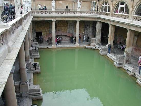 Terme di Bath in Gran Bretagna (I-III secolo d.C.)