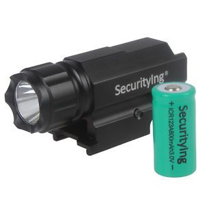 Securitylng-LED-600LM-Gun-Flashlight-Torch-for-Pistol-Airsoft-800mAh-Battery