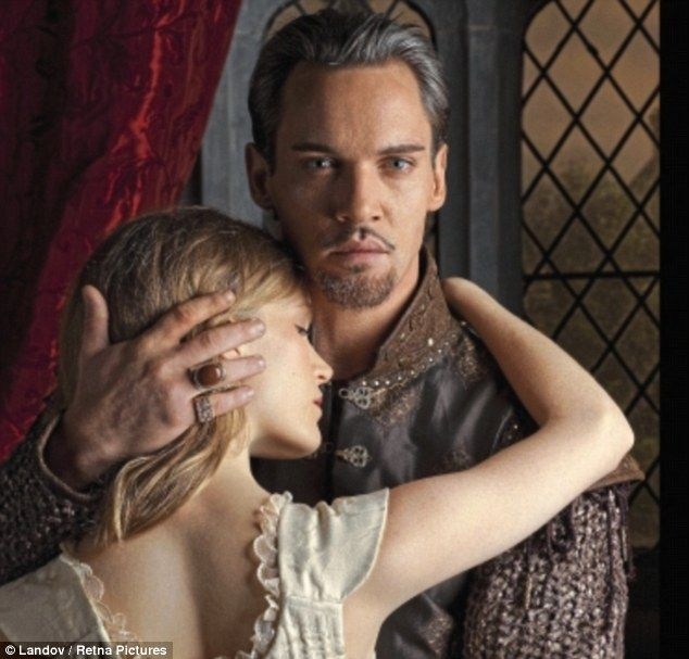 Tamzin Merchant as Katherine Howard and Jonathan Rhys Meyers as Henry VIII in The Tudors. Lucy Worsley thinks that Katherine Howard has been badly-done-by by historians