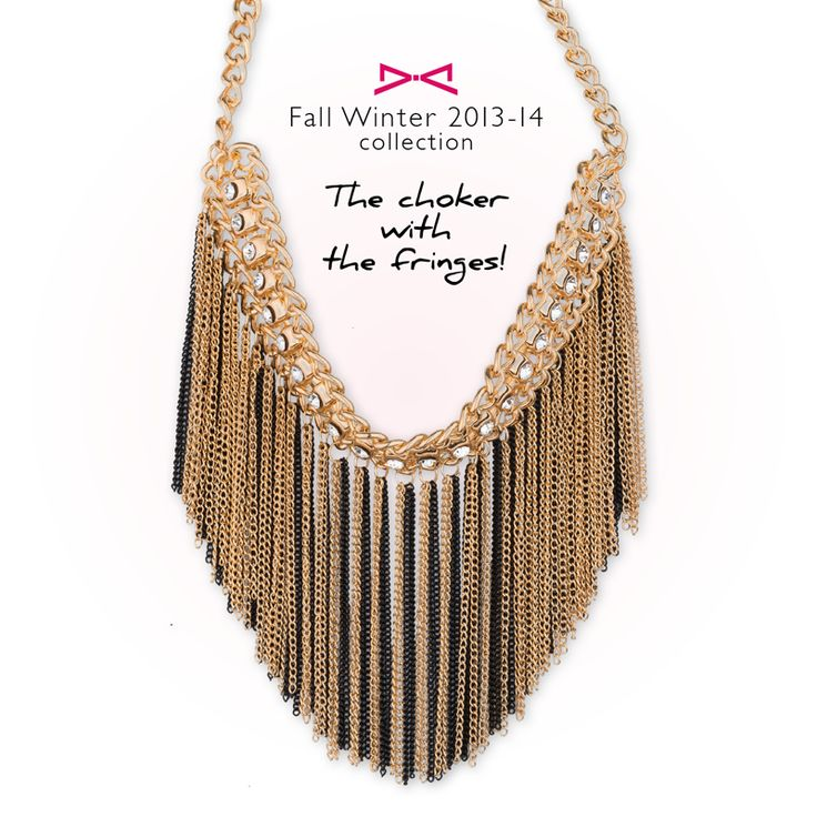 Achilleas accessories | The choker with the fringes!