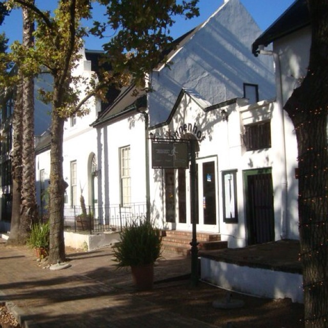 Stellenbosch - South Africa town I lived in.
