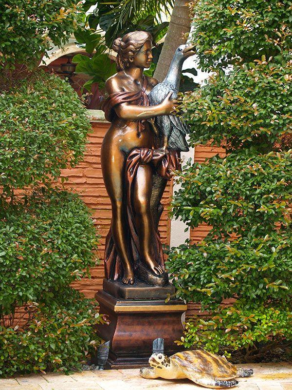Patio Statues Finishing