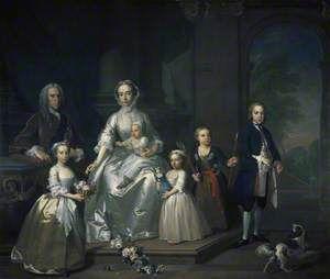 James Douglas (1702–1768), 14th Earl of Morton, and his Family