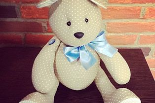 14/08/2014   Urso (boneco de pano) – Rafaela Bartolini