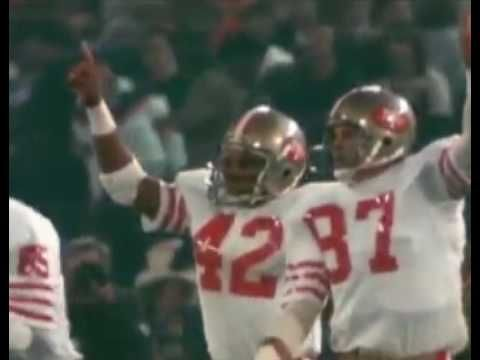 I always listen to this before a game. It's a great pump up video!!!!!!!!!!!! Ronnie Lott highlight videos