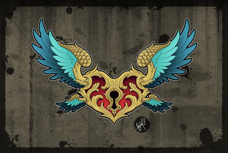 Flying Guardian - Tattoo Design by SugarSkullCandy.deviantart.com on @deviantART