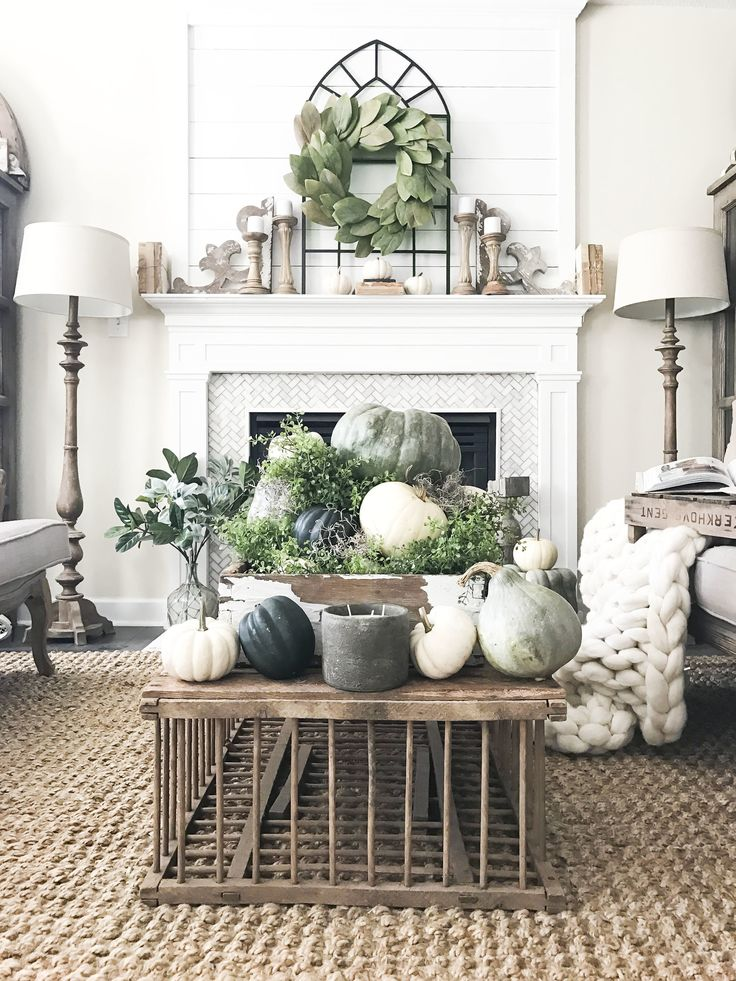 Amazing Fall Home Tour Inside Plum Pretty Decor And Designs Fall Home  Living Room  With A