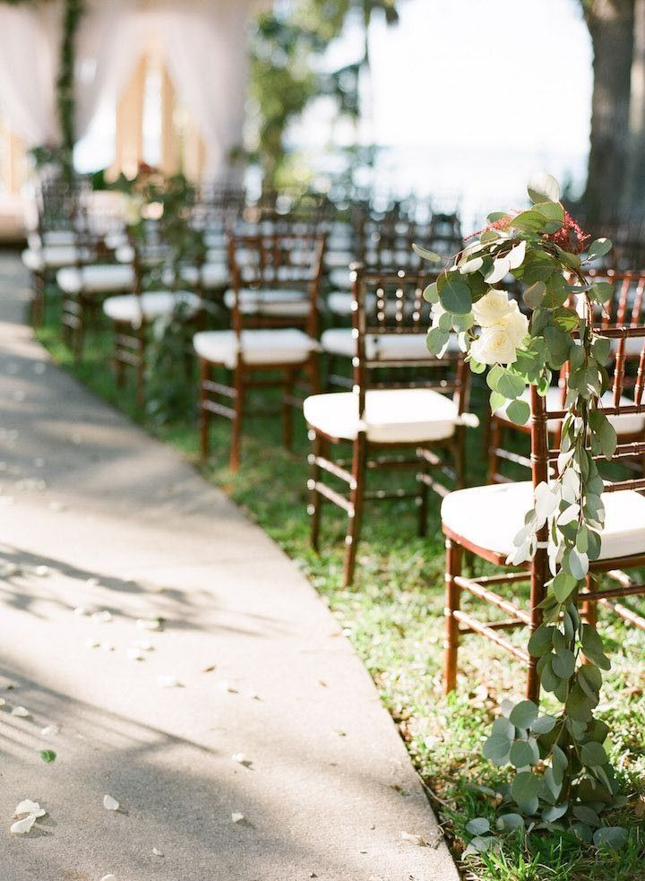 Simple Outdoor Wedding Ceremony Decorations