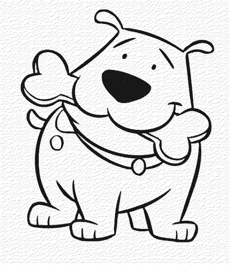 Employ Dog Coloring Pages for Your Children's Creative ...