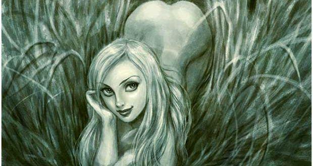 Rusałka i Brzeginia, wodne panny