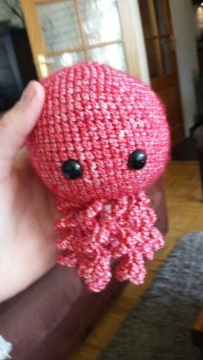 Gehaakte octopus door: Esmee Heebing