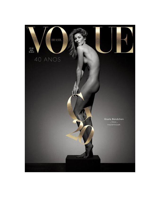 Vogue Brazil May 2015 Gisele Bündchen by Inez & Vinoodh