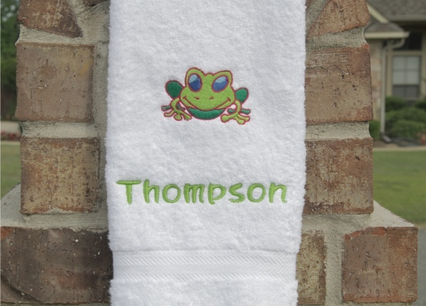 Embroidered hand towels and towel sets. We have towels for all seasons and occasions. If you cannot find what you are looking for send us a picture and we can make any towel design you can dream up! >> embroidered towels --> www.towels4all.com