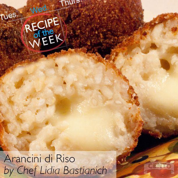 ... Arancini di Riso (Rice Balls)! #recipe http://buff.ly/1nCaSTN