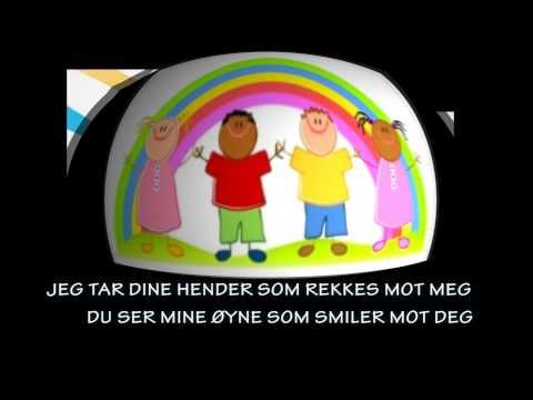 MORGENDAGENS SØSKEN med tekst - YouTube