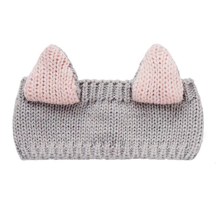 Cat Knit Headband