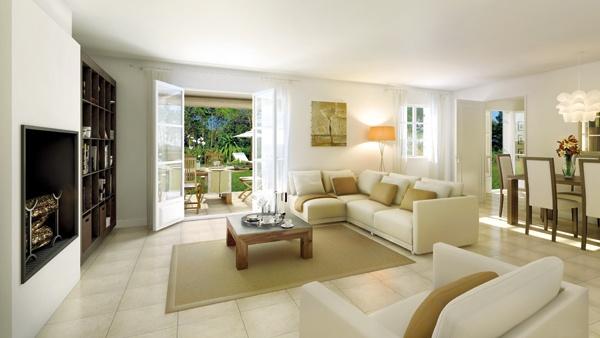 La Mole (Living Area) - Villas du Castel, Saint Tropez