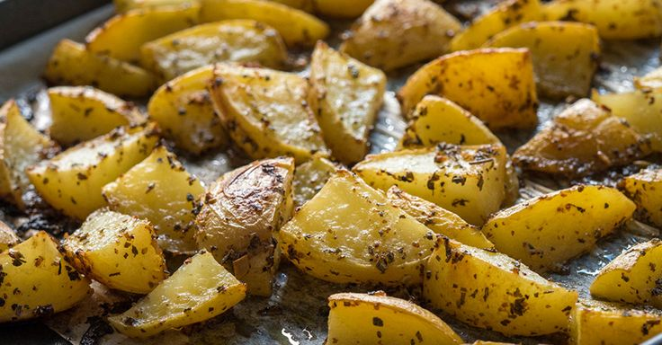 Just a couple unexpected ingredients turn these potatoes into something else!