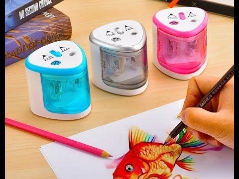 Очень классная и качественная электрическая точилка карандашей.