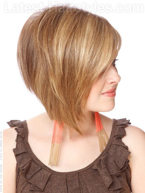 21 Spectacular Angled Bob Hairstyles to Try --> http://www.latest-hairstyles.com/bobs/angled.html