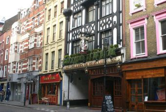 Pillars of Hercules  - London