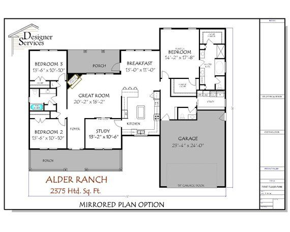 Craftsman House Plan The Alder House Plans Craftsman House Plan House Floor Plans
