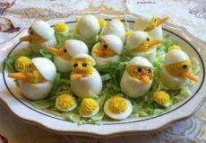 Фаршированные яйца. Варианты