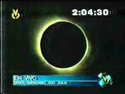Maracaibo eclipse solar 1998