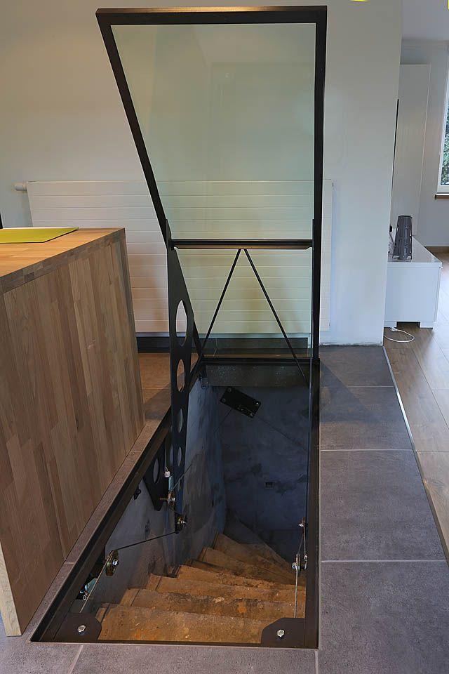 Best roof access hatch ideas on pinterest for Basement access from garage