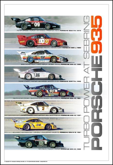 Porsche 935 – Turbo Power At Sebring | Autosports Marketing Associates, Ltd.