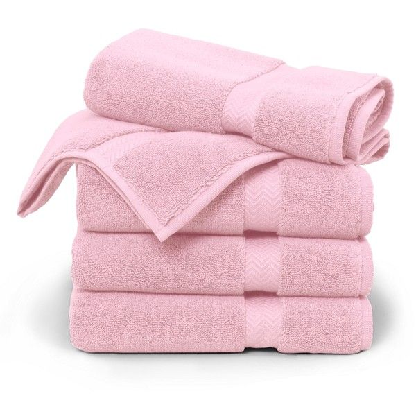 ... Pink Bathroom Rugs. Brooks Brothers Terry Tub Mat ($32) ❤ Liked On  Polyvore Featuring Home, Bed