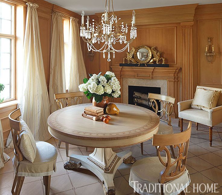 15 best images about decor mary douglas drysdale on for Beautiful traditional dining rooms