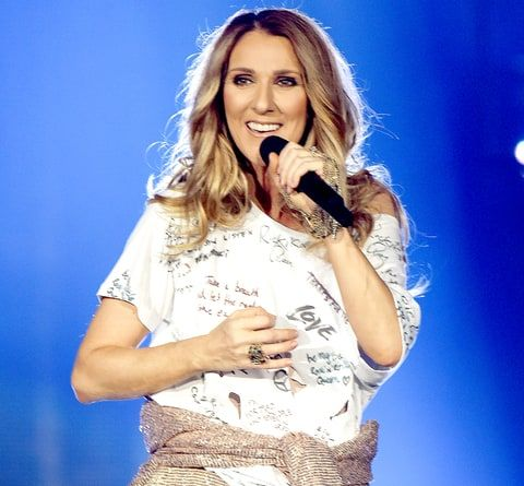 Celine Dion performs during the opening night of her Celine Dion Live 2017 tour at Royal Arena on June 15, 2017 in Copenhagen.
