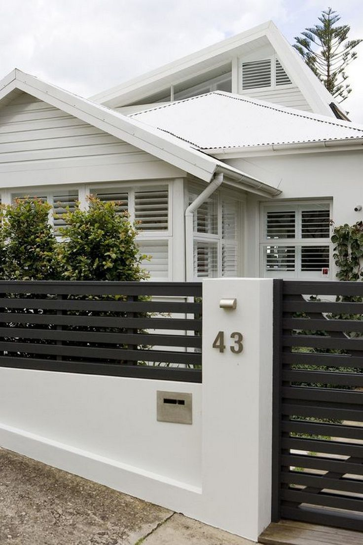 50 Diy Privacy Fence Ideas For Small House Modern Fence Design