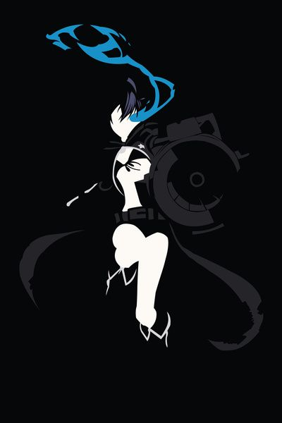 Black Rock Shooter - Black Rock Shooter Art Print