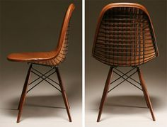 Charles and Ray Eames Herman Miller DKW chair   Seating   Home