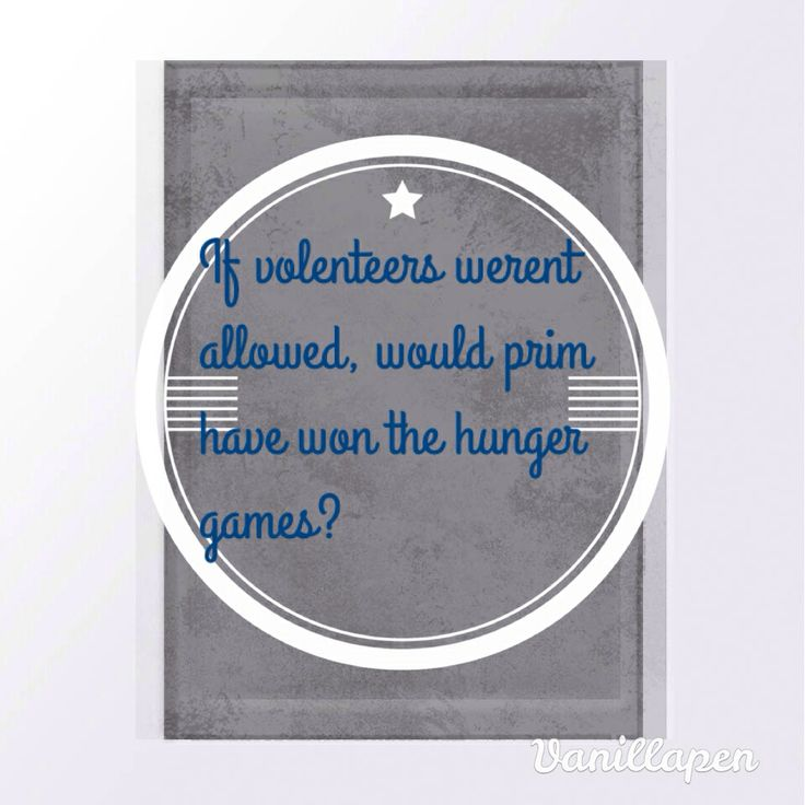Pin by All About Hunger Games on Questions | This or that ...
