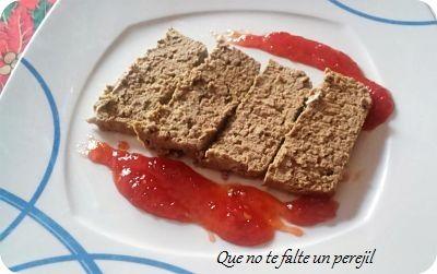 """ Que no te falte un perejil "": Paté de Hígado de Ternera con  Mermelada de Fresas..."