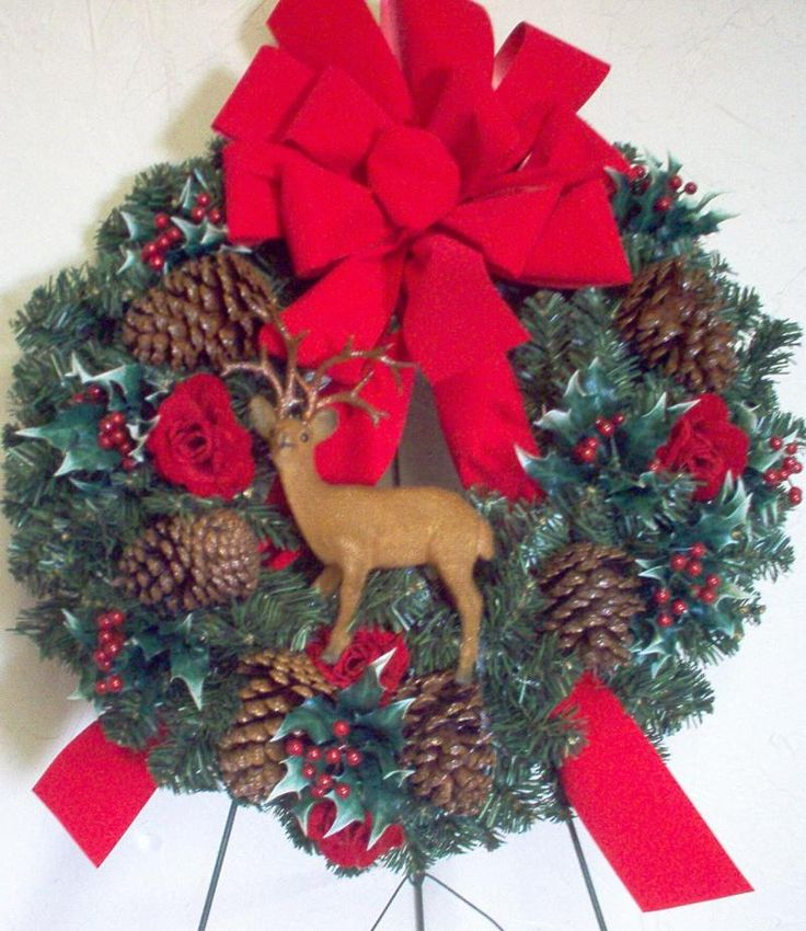 17 best images about cemetery wreaths for christmas on for Best place to buy wreaths
