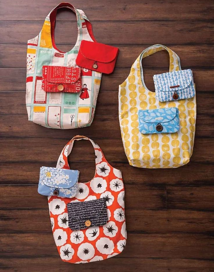 Market Bag and Pouch