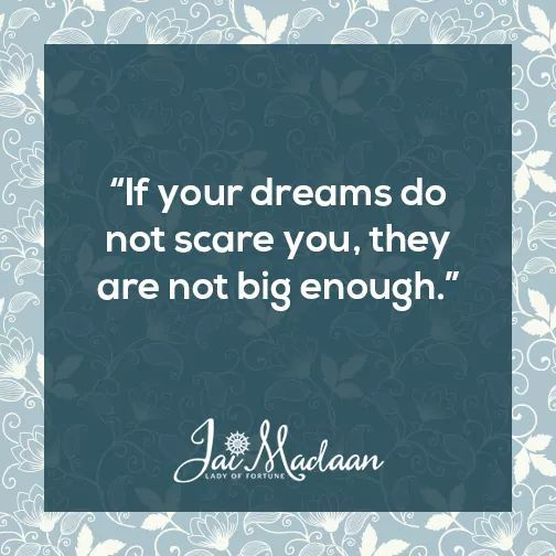 If your dreams don't scare you they are not big enough. #inspiration #QOTD#motivation https://t.co/XsAta0FIBl