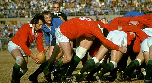 Gareth Edwards - difficult to imagine just how good he would be with a modern rugby ball in his hands
