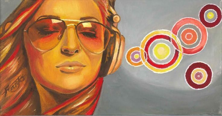 Music Oil on canvas