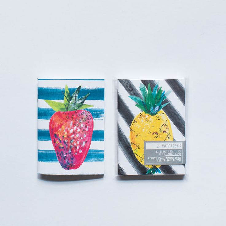These pocket sized notebooks are as functional as they are chic. Set contains 2 notebooks with an individual cover design (on front and back) and 32 perforated blank linen pages for easy removal.3.5 x 5 x .5 inches (8.9 x 12 x 1.4 CM)