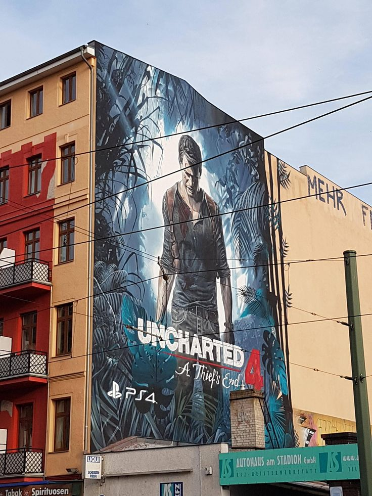 Walking down the street trying to decide if I should buy Unchartered 4 and I look up and see this...must be a sign.